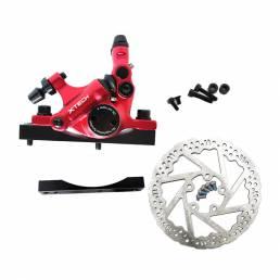 XTECH HB100 Scooters Cable Pull Oil Freno de disco + Freno de disco + Convertidor Accesorios de scooter eléctrico de ace
