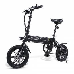 Samebike YINYU14 7.5A 36V 250W 14 en bicicleta eléctrica con ciclomotor plegable inteligente 25 km / h Máx. Velocidad 30