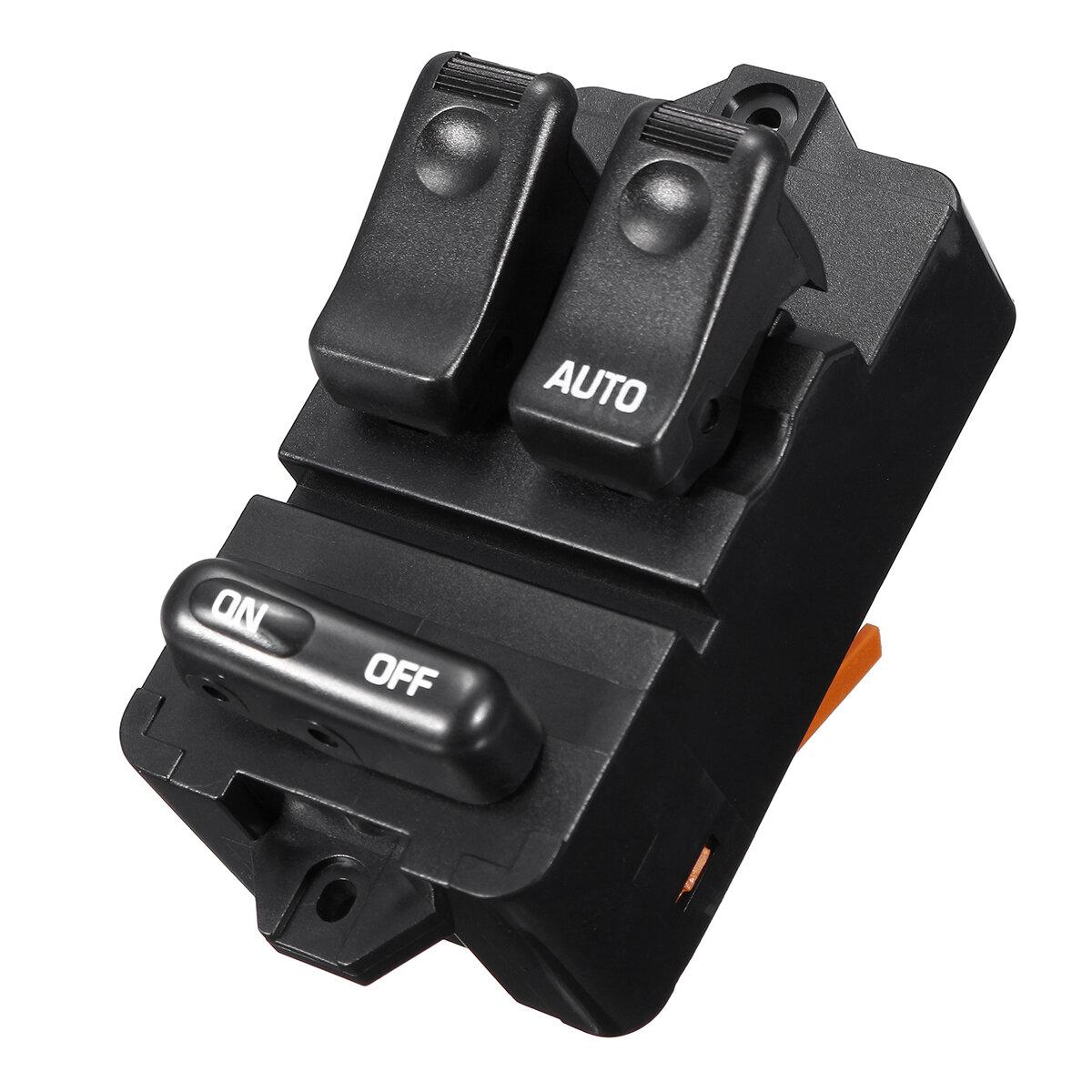 Lado del conductor derecho ABS interruptor de ventana de energía eléctrica para MAZDA 323F / BONGO 1994-1998 S09A-66-350
