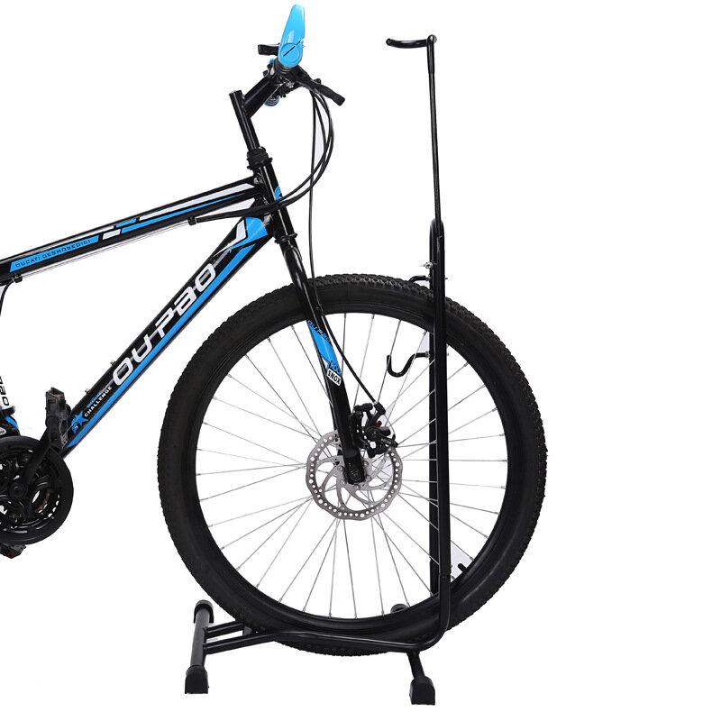 Soporte de estacionamiento para bicicletas de montaña para bicicletas Stand Holder Acero revestido ajustable en forma de