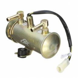 HRF-027 12V Kit de bomba de combustible diesel de gasolina eléctrica Faceta Rojo Estilo superior Universal