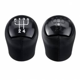 Cabezal de la palanca de cambios de 5 velocidades negro para Renault Clio Kangoo Megane Scenic Twingo Dacia Logan