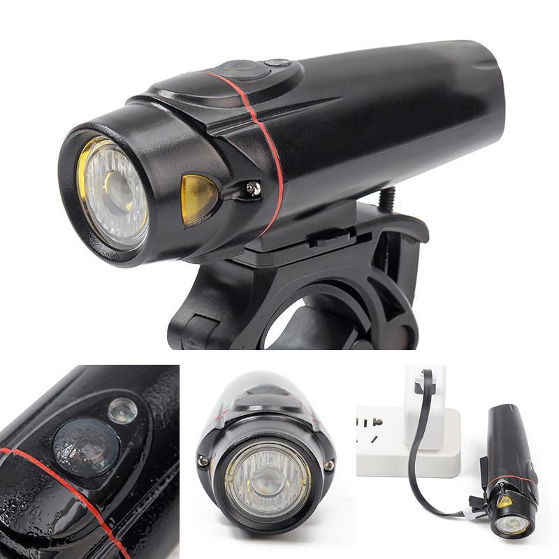 XANES SFL11 LED Norma alemana inteligente Sensor Impermeable Bicicleta Bicicleta de luz delantera Moto