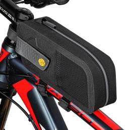 WEST BIKING 1.5L Marco delantero de bicicleta Bolsa Impermeable Bicicleta Bolsa Manillar de tubo de bicicleta Bolsa para