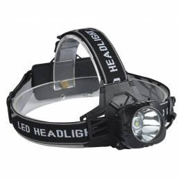 XANES K55A 800 LumensBicycle Led T6 Faro al aire libre Sports HeadLamp 4 Modos Luz de cabeza ajustable