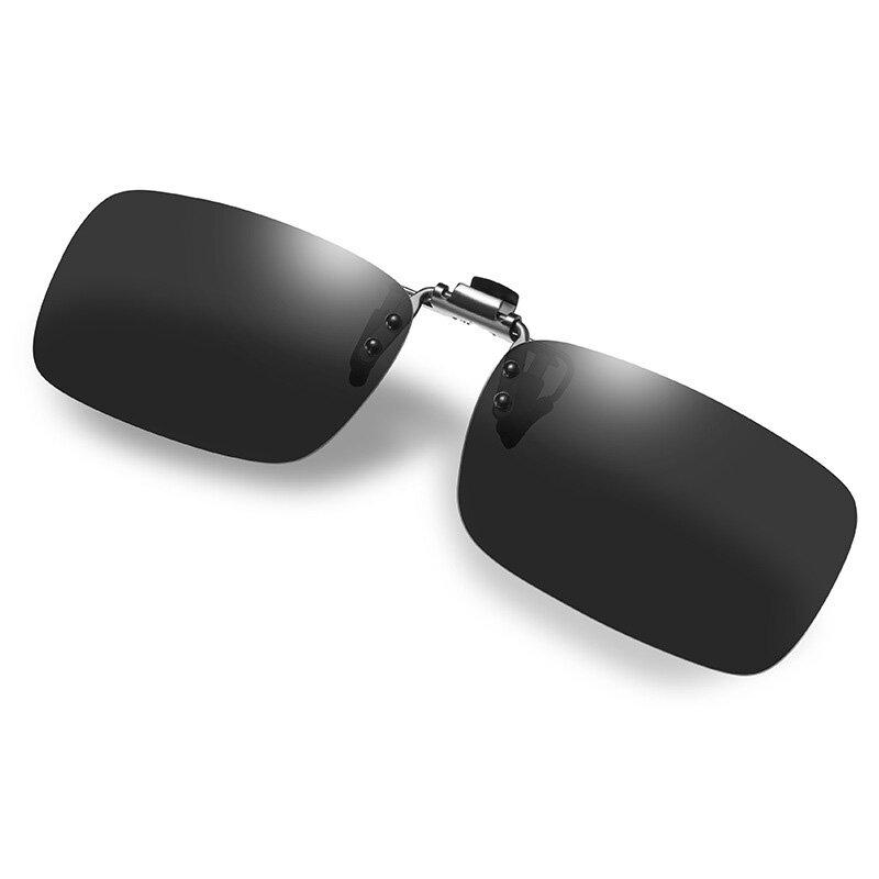 Gafas de sol polarizadas inteligentes Día y noche Gafas de sol miopes de uso dual Silicona Clip-On