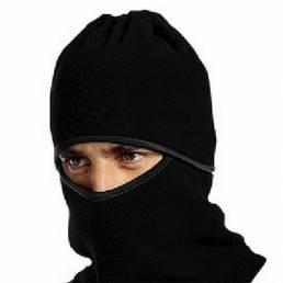 Fleece Sport Cycling Mascara Snowboard Neckedchief Full Mascara al aire libre Corriendo Mascara a prueba de viento negro