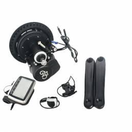 BIKIGHT36V250W26pulgadasMotor Sin escobillas Central motor DIY ciclismo bicicleta eléctrica modificación de la bici