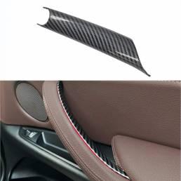 Cubierta protectora de la manija de la puerta del lado derecho del pasajero interior para BMW Cubierta de la manija de l