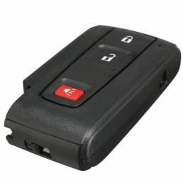 Entrada flip shell remoto caso clave sin llave inteligente para toyota prius fob de 3 botones