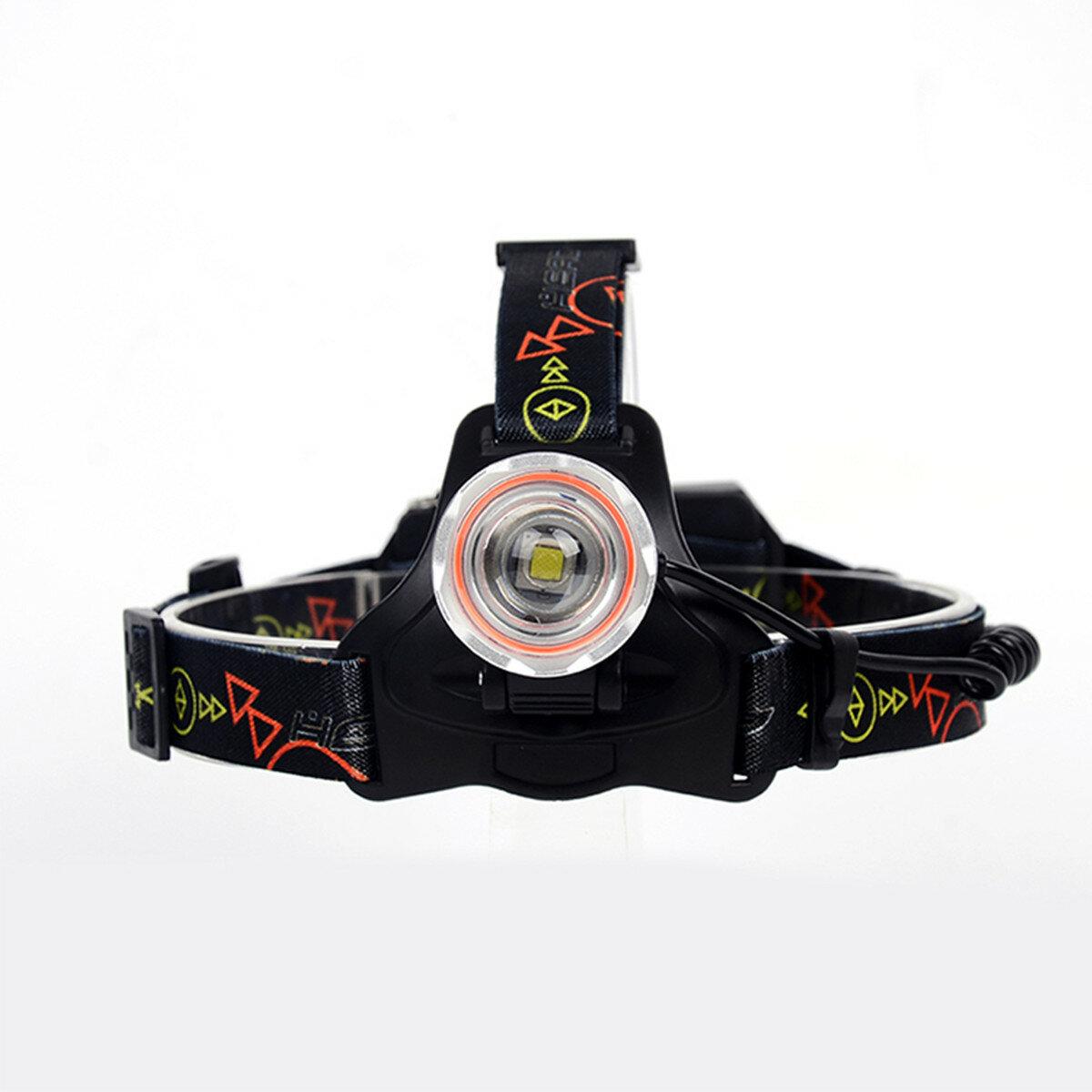 XANES® Mecánico Zoom 4-Modos L2 + COB LED Faros delanteros para ciclismo nocturno para cámping Caza Senderismo