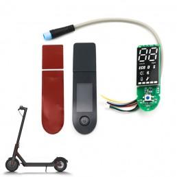 BIKIGHT Scooter Eléctrico Bluetooth Tablero + Panel de interruptores para XIAOMI M365 Pro Instrumento de tablero de cabl