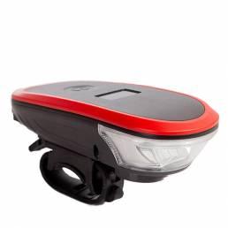 BIKIGHT 120dB 1200mAh Pantalla digital impermeable Carga USB Luz de bicicleta con bocina Bicicleta Scooter eléctrico Far