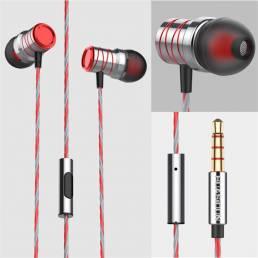 Bakeey P20 Metal Super Bass Music Auricular Gaming In-ear Auriculares con micrófono
