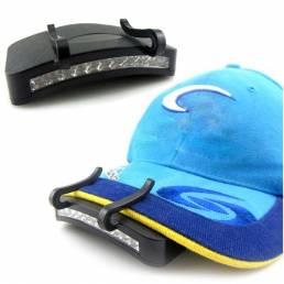 11 LED senderismo lámpara de luz Lámparas de casco casquillo al aire libre de pesca acampar con clip de