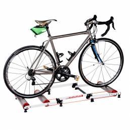 Entrenador de ciclismo de interior Soporte de bicicleta Bicicleta estacionaria Rodillo Ejercicio Entrenamiento en casa E