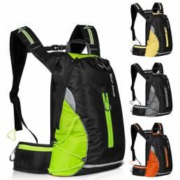 Mochila para bicicleta de ciclismo WEST BIKING 16L Impermeable Almacenamiento de escalada deportiva transpirable Bolsa a