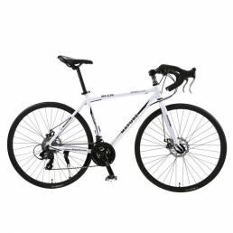 MADURE MZ-C30 26.8 Inch 21/27-Speed City Road Bicicletas BMX Frenos de doble disco Bicicleta de montaña ligera Bicicleta