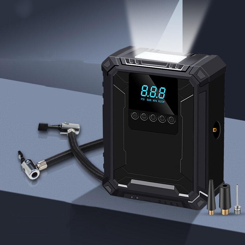 BIKIGHT Bomba Inflable Digital Inalámbrica Inteligente Pantalla Mini Incorporada Batería Carga Automática