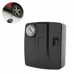 BIKIGHT Mini bomba de aire eléctrica multifunción 12V DC 10A Deflactor de detección de presión de neumáticos para bicicl
