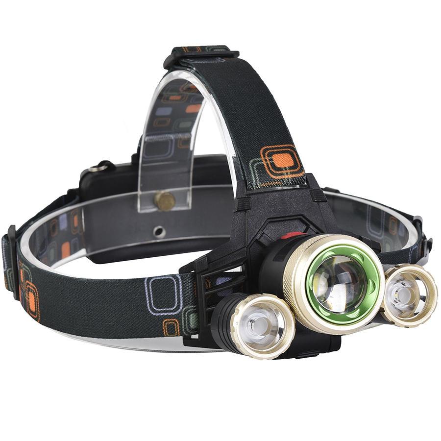 XANES 740 1200 Lúmenes T6 + XPE LED Faro de bicicleta Mecánico Zoom al aire libre Faro de deportes 4 modos