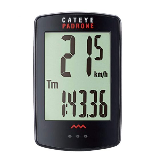 CATEYE Bike Computer Velocímetro inalámbrico Velocidad Sensor Cronómetro Odómetro digital Impermeable Luz de fondo al ai