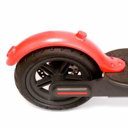 BIKIGHT rojo delantero trasero guardabarros de rueda de scooter pieza de reparación de guardabarros para scooter eléctri