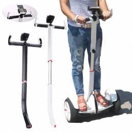 BIKIGHT 88-102CM Manillar ajustable con soporte para teléfono para scooter eléctrico Ninebot PRO