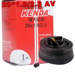 Cámara de aire de la bicicleta de la moto de kenda 29x19 o 23 avenida 0250 neumático interior