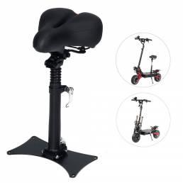 Asiento de sillín de scooter LAOTIE transpirable profesional 43-60cm cojín de silla de scooter eléctrico plegable ajusta