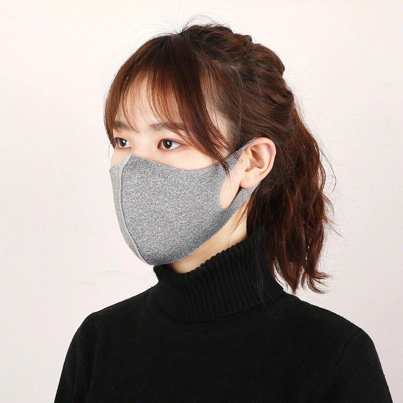 1PC al aire libre Cara de ciclismo transpirable a prueba de polvo Mascara Protector facial ligero Contaminación Boca pro