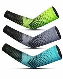 WHEEL UP Mangas de brazo Unisex Bicicleta Cooling Sun Sleeves Nylon Anti-UV Ciclismo Running Sport Brazalete
