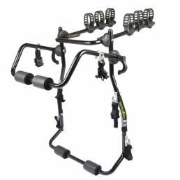ZENTORACK 150kg Loading 3-Bike Trunk Mount Carrier Rack para la mayoría de sedán SUV Hatchbacks Miniva