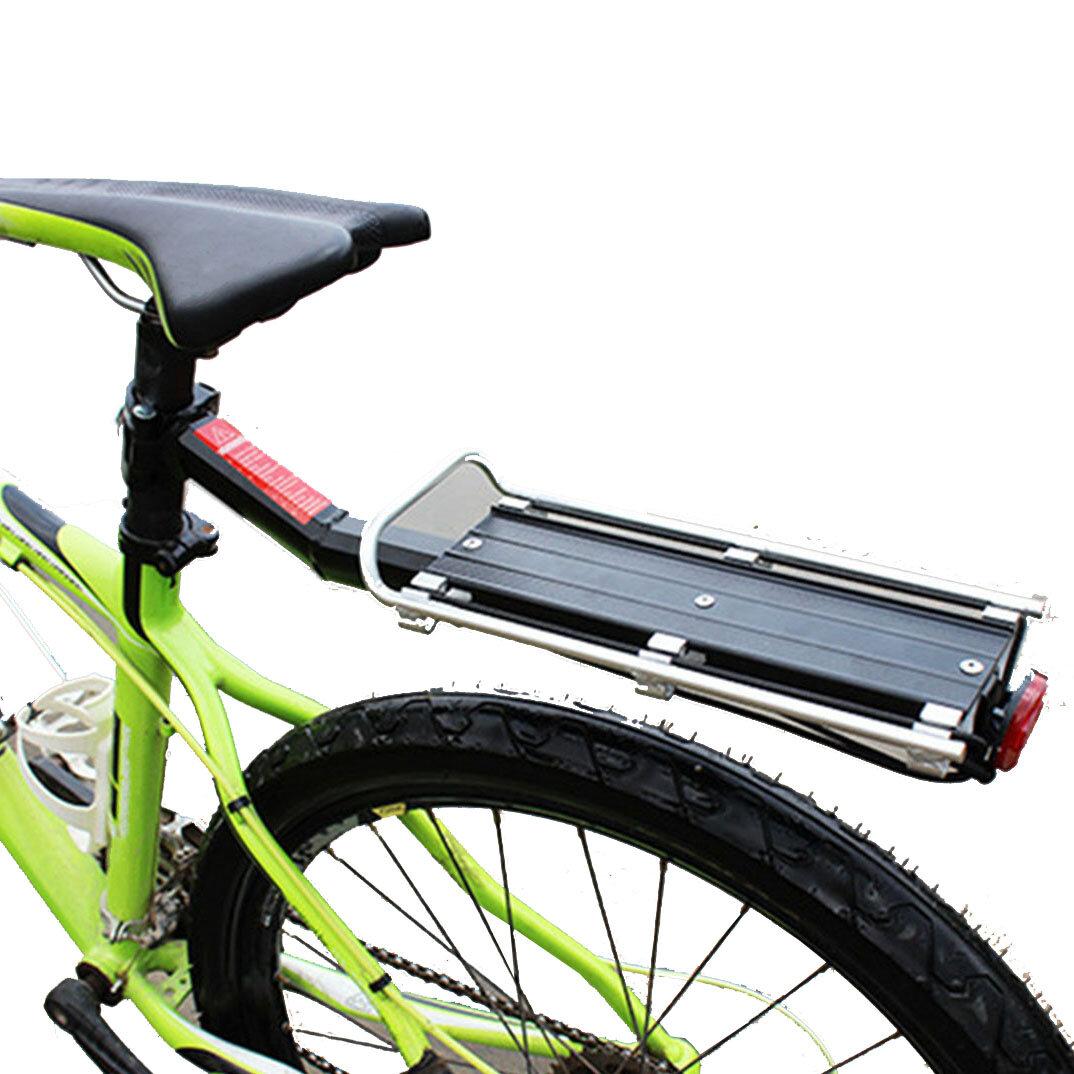 9KG Asiento de bicicleta de aleación de aluminio Soporte trasero de montaje en alforjas Bicicleta Post Bike Equipaje Por
