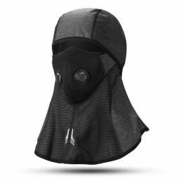 BIKIGHT Bicicleta Bicicleta Ciclismo Invierno Cara completa Mascara Antipolvo a prueba de viento Esquí Sombrero Bufanda
