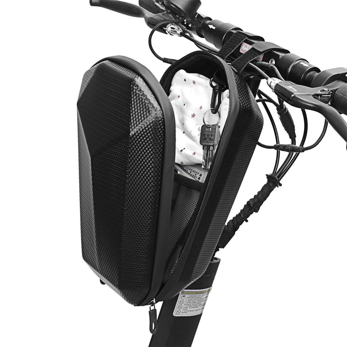 B-SOUL 4L Impermeable EVA Scooters eléctricos resistentes al desgaste Marco delantero de la bicicleta Bolsa Bicicleta MT