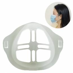BIKIGHT 10PCS 3D Mascara Marco de soporte interno para la cara Mascara Prevenir Lápiz labial Off Soporte de máscara faci