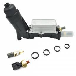 Motor Oil Kit de juntas de adaptador de carcasa de filtro de enfriador 5184294AE para Jeep para Dodge para Chrysler 2011