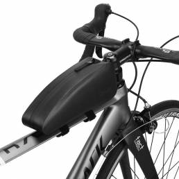 GIYOTPURevestidoNylonBicicletaBicicleta Delantera Impermeable Bolsa Cuadro de tubo Bolsa Bicicleta de carretera MTB