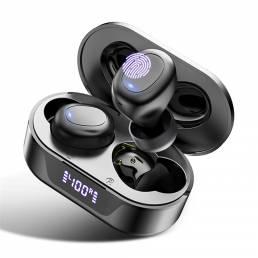 Bakeey TW16 TWS Auriculares inalámbricos bluetooth 5.0 Auriculares 13 mm Estéreo dinámico Reducción de ruido de graves L