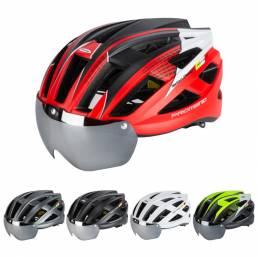 PROMEND Casco de bicicleta Ligero
