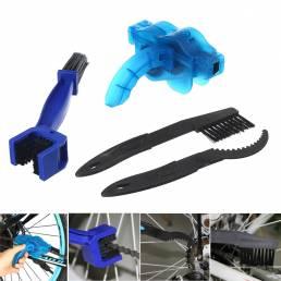 Reparación de limpiador de cadena de bicicleta herramienta Limpieza de lubricación Lavado de ruedas herramientas