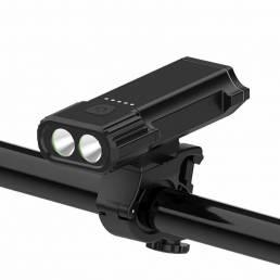 XANES 2xT6 3 modos 4400mAh USB recargable luz de bicicleta faro IPX65 Impermeable incorporado Batería
