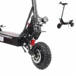 Scooter eléctrico de 1200 W motor Buje de ruedas delanteras / traseras motor Accesorios de repuesto para scooter para LA