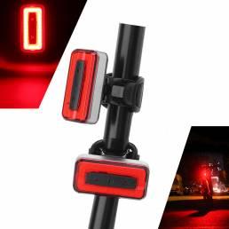 XANES STL04 120LM COB Light Sensor 7 modos Impermeable 500mAh USB Rechargeable Bike Light
