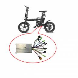 CMSBIKE F16-PLUS Bicicleta eléctrica Motor Sin escobillas Controlador Controlador de velocidad para E-Bike