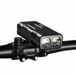 BIKIGHT 10000mAh de gran capacidad súper largo Batería Life Strong Light LED Linterna Impermeable Faro de bicicleta