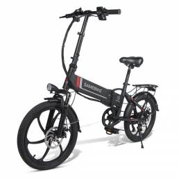 SAMEBIKE 20LVXD30 10.4Ah 48V 350W 20 en bicicleta eléctrica plegable 35 km / h Velocidad máxima 80 km Kilometraje Carga