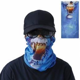 Pañuelo multifuncional para exteriores Cara Mascara UV Protección a prueba de viento y polvo Cuello Polaina Sombreros pa