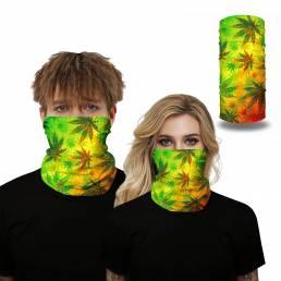 Cabeza de pañuelo pasamontañas multiusos Cuello Bufanda UV Cara de protección Mascara Ciclismo Senderismo Cabello Acceso